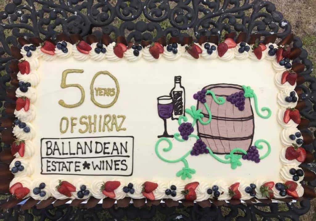 Tremendous 50 Years Of Shiraz Vineyard Party At Ballandean Estate Funny Birthday Cards Online Elaedamsfinfo